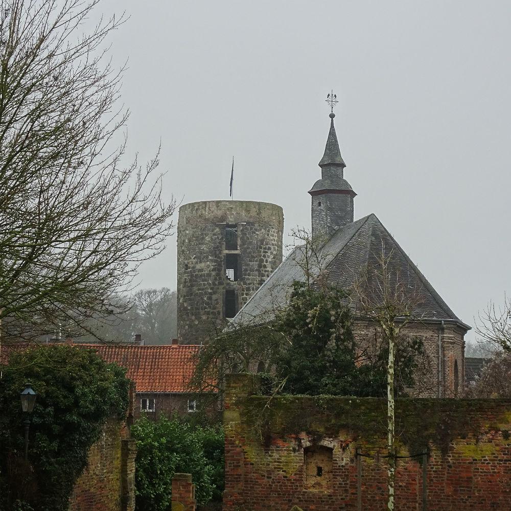 Kapelle und Mühlenturm
