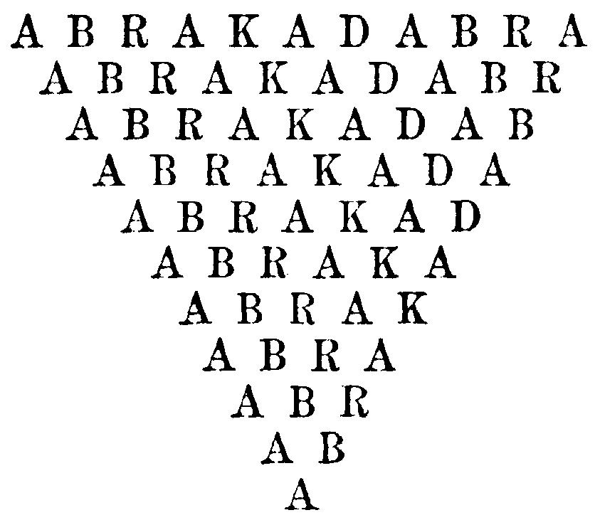 Abrakadabra Schwindeschema