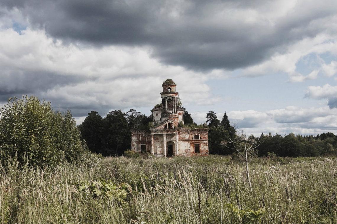 alte Kirche in Russland