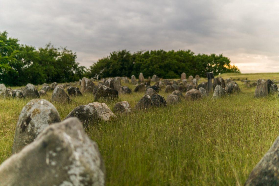 Wikingerfriedhof in Nord-Jütland
